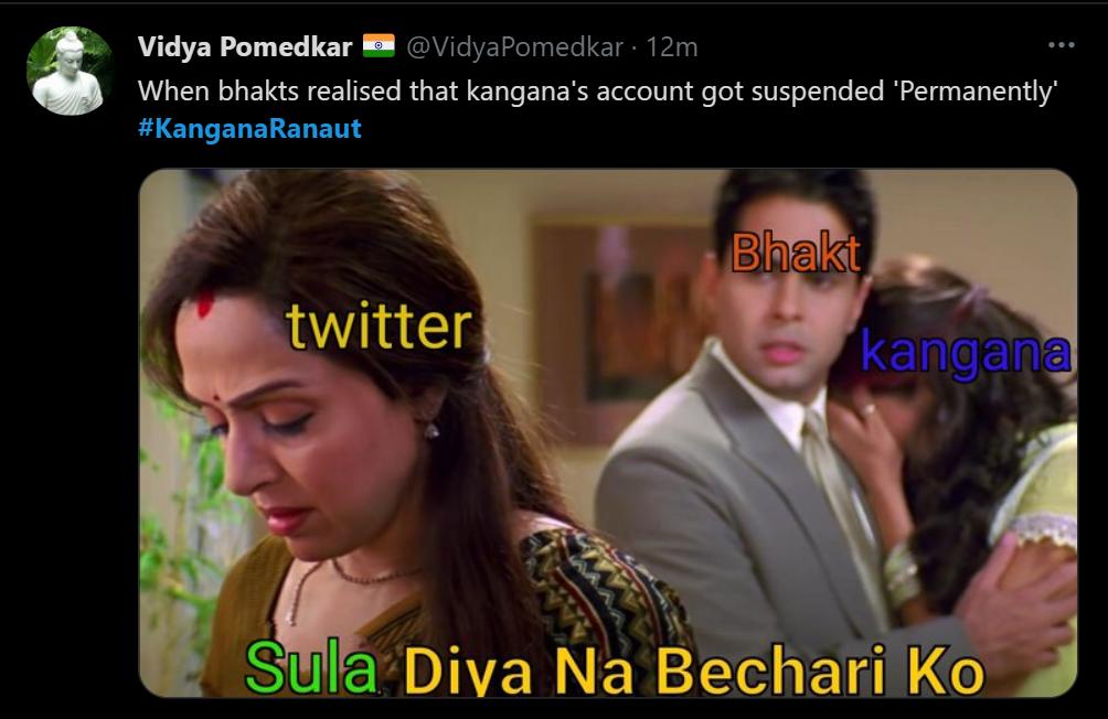 kangana tweet 9 inmarathi