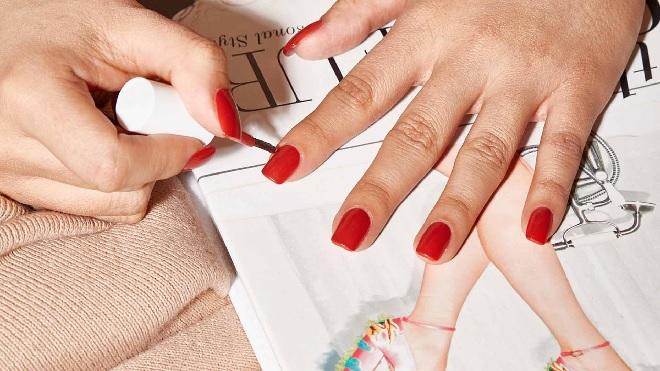 nail polish inmarathi