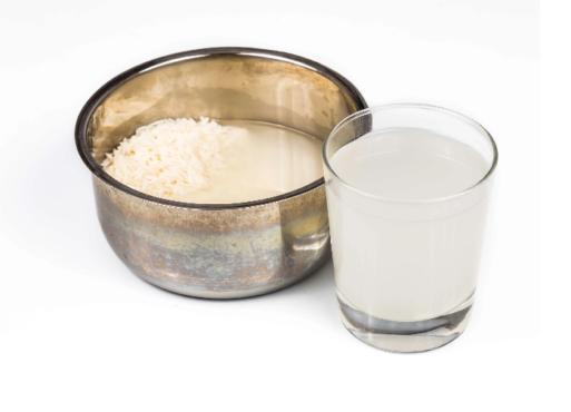 rice water inmarathi