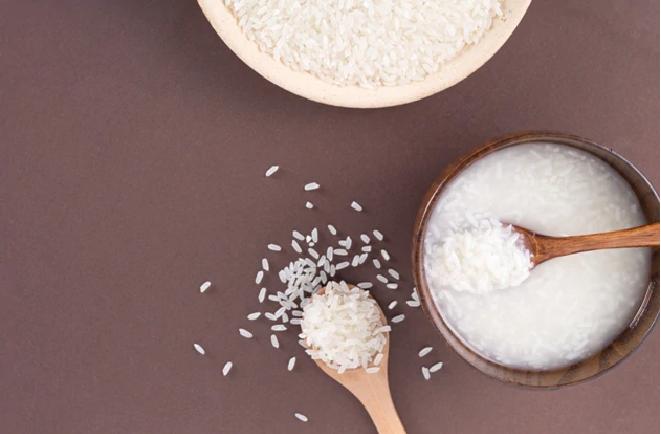 rice water skin 5 inmarathi