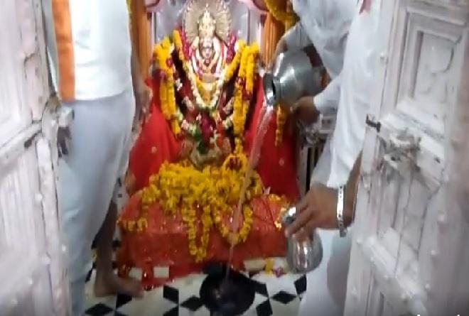 sheetla mata temple ghada inmarathi