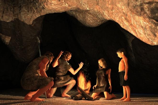 stone age cave inmarathi