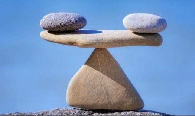stone balance inmarathi