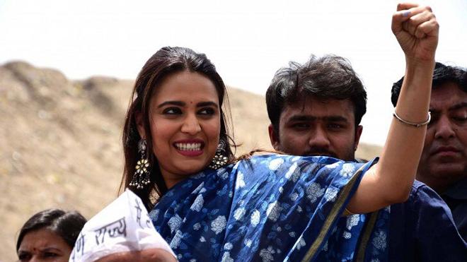 swara bhaskar inmarathi