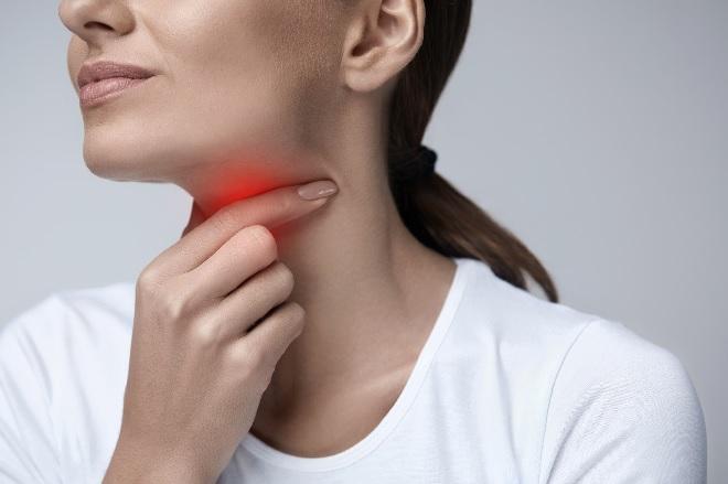 throat pain inmarathi