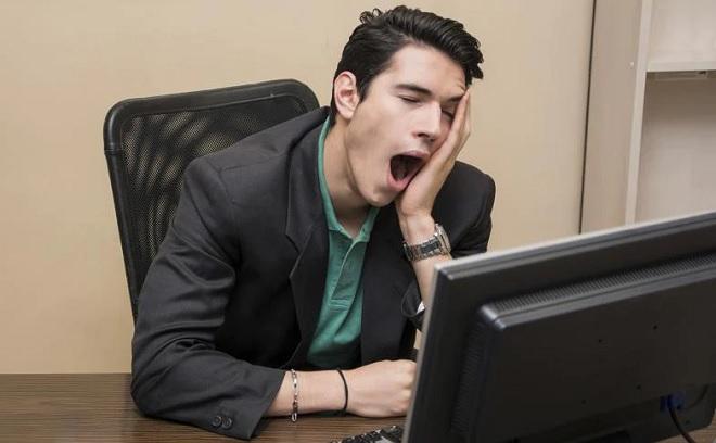 yawning at office inmarathi