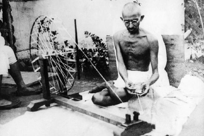 gandhi khadi inmarathi