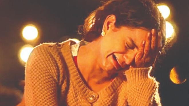 kangana ranaut crying inmarathi
