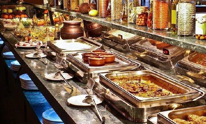 buffet food inmarathi