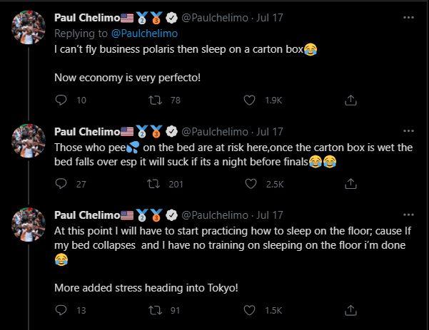 paul chelimo tweet inmarathi