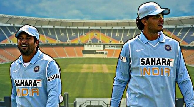 sachin and ganguly inmarathi