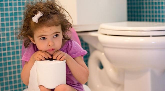 toilet paper baby