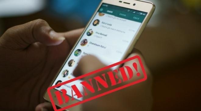 whatsapp banned inmarathi