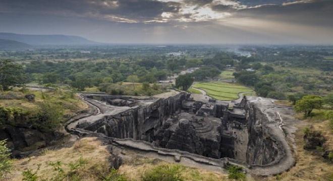ellora caves inmarathi