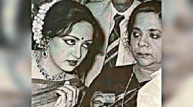 hema malini and mother inmarathi