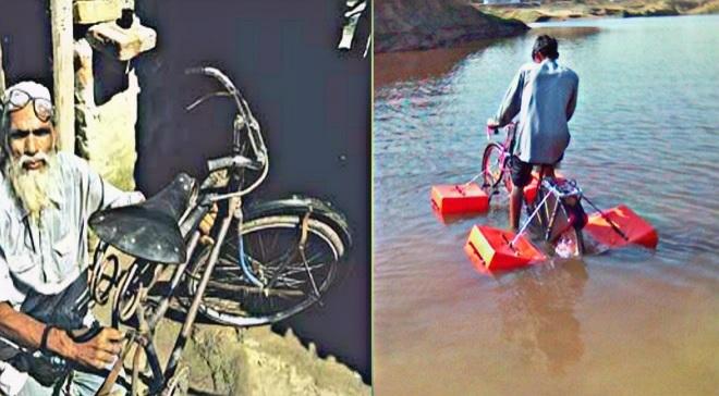 mohammad saidullah floating cycle inmarathi