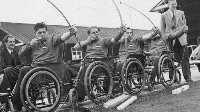 paralympics history inmarathi