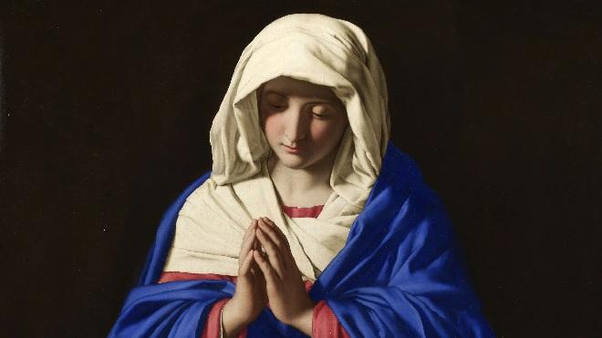 saint virgin mary inmarathi