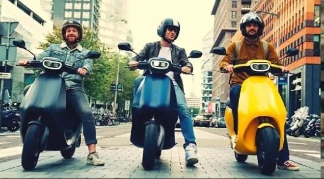 e scooter inmarathi