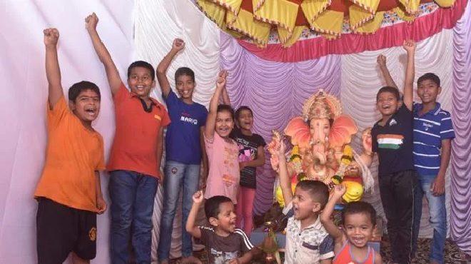 ganpati bappa morya inmarathi