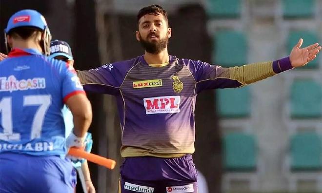 varun chakravarthy wicket celebration inmarathi