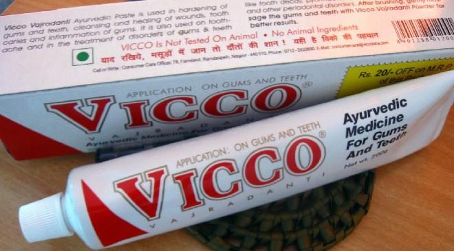 vicco toothpaste inmarathi