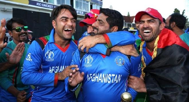 afghanistan cricket team inmarathi