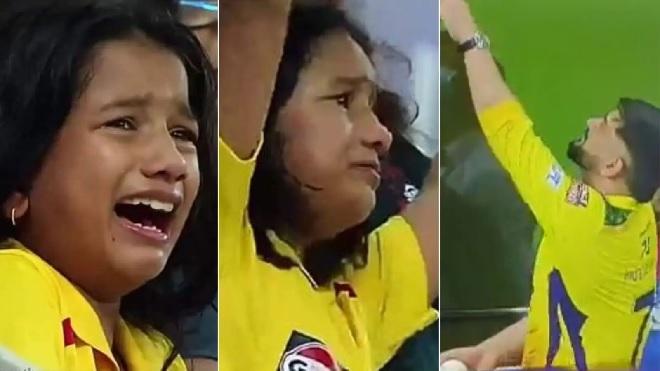 csk crying girl inmarathi