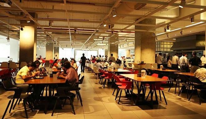 food court inmarathi