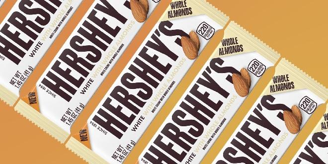 hersheys white chocolate inmarathi