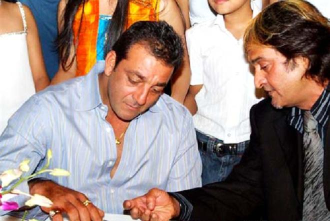 mahesh manjrekar with sanjay dutt inmarathi