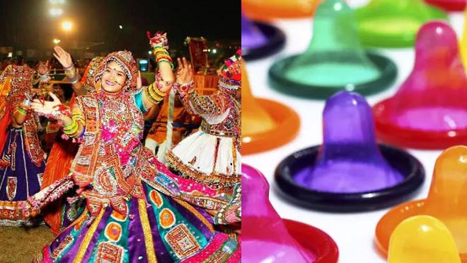 navratri condoms inmarathi