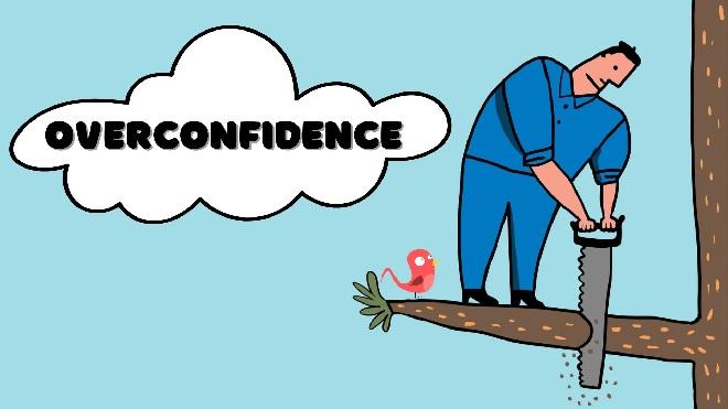over confidence inmarathi