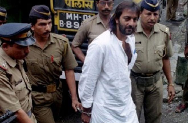 sanjay dutt arrest inmarathi